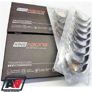 King Racing XP Tri Metal Crankshaft Main & Con-Rod Bearing Set - Subaru Impreza Rear Thrust 5